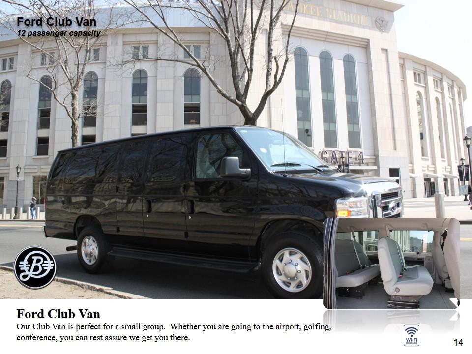 Luxury Van - Ford Van