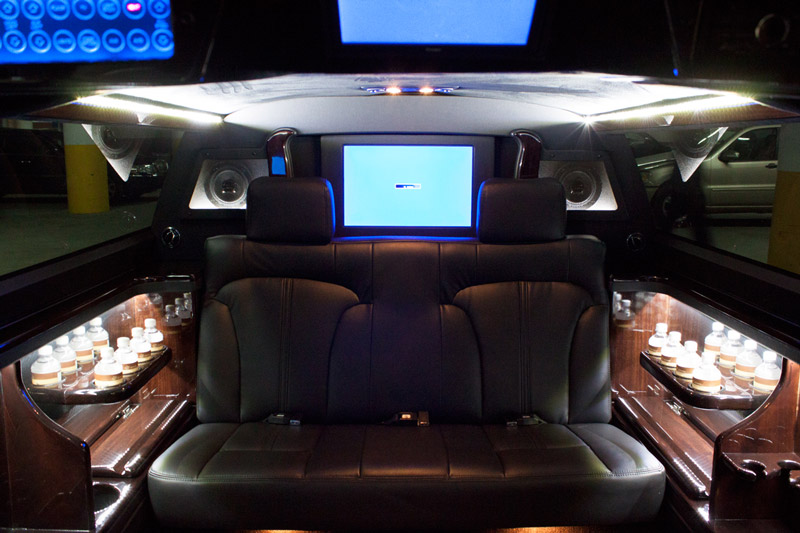 Console view Limo
