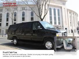 Ford Club Van – Capacidade para 12 passageiros