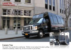 Van de Luxo – Capacidade para 12 passageiros