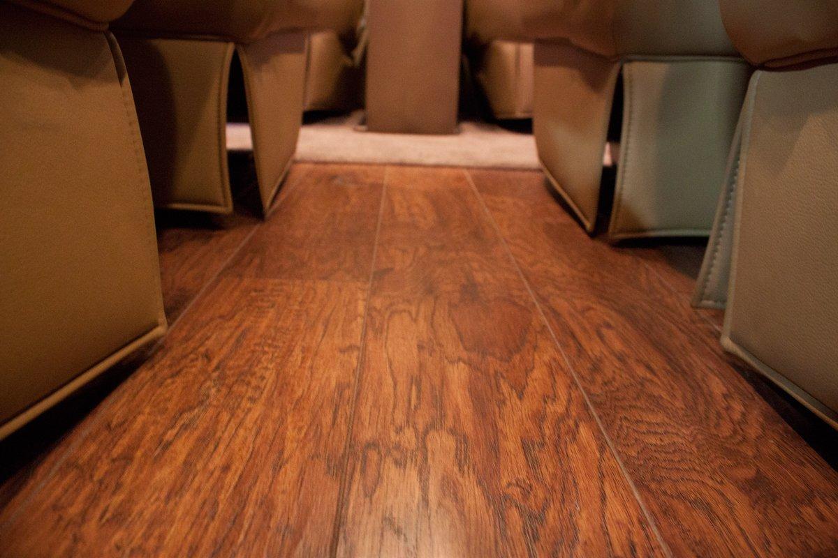 Mercedes Sprinter Hardwood floor