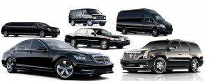 MercedesSEscalade,VIPSprinter,LincolnMKTLimo,PassengerVan