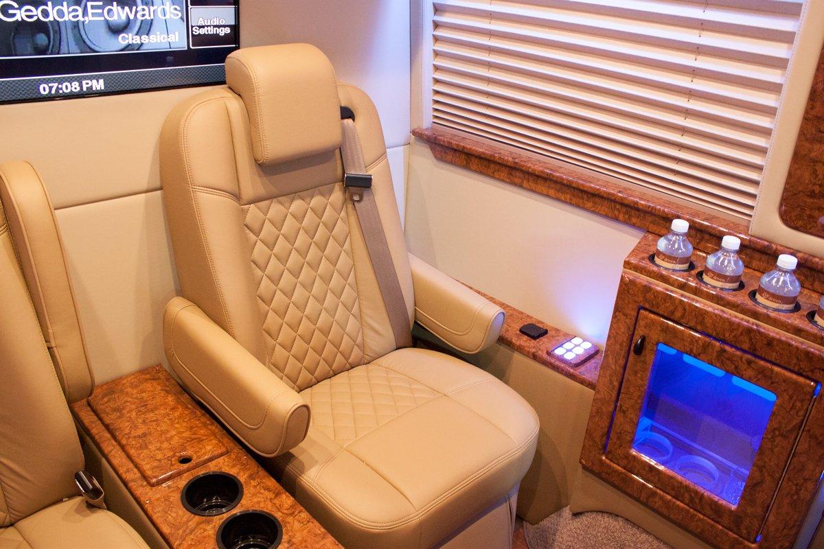 Mercedes Sprinter Luxury Interior