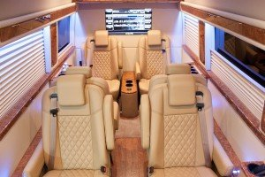 Mercedes Luxury Sprinter for Corporate Transporation