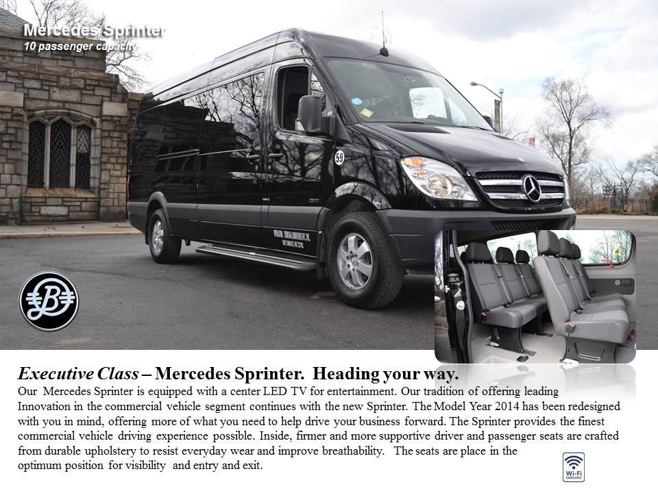 Executive Class Mercedes Sprinter