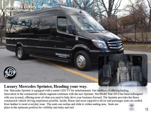 Mercedes Sprinter 15 pax