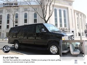 Ford Club Van Extended Version – 14 passengers