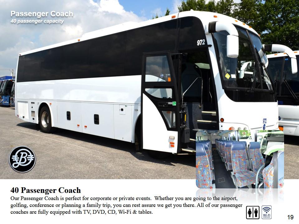 PassengerCoach BermudaLimousineChauffeurVehicles