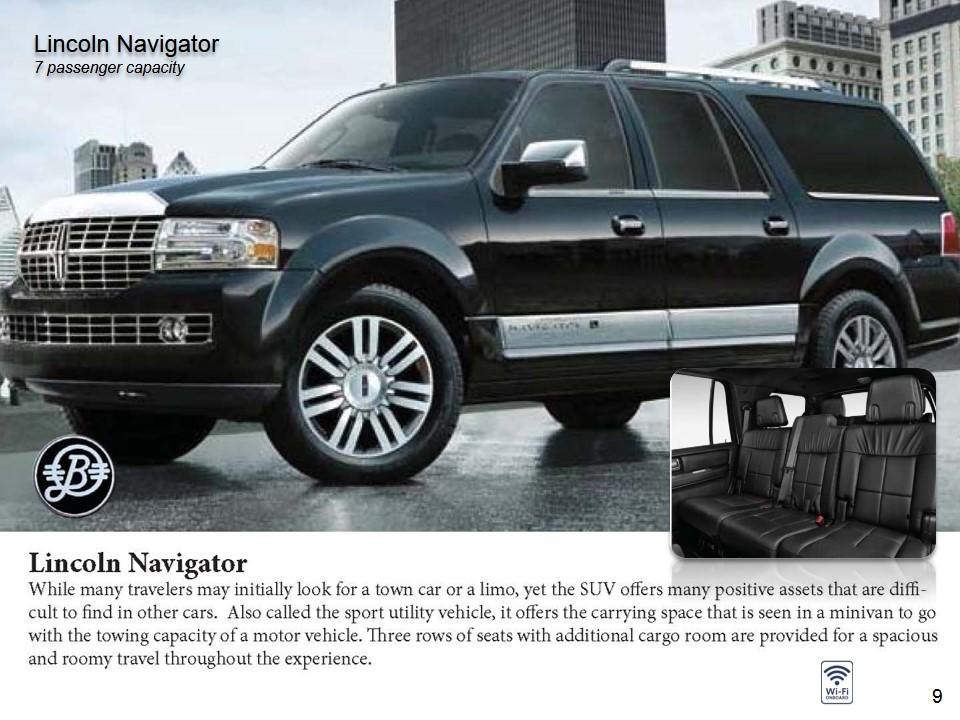Chauffeur Vehicles