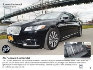 Luxury Chauffeur Service Lincoln Continental Car Service