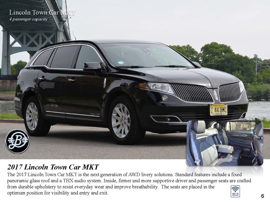 Luxury Sedan Lincoln MKT Bermuda Limousine