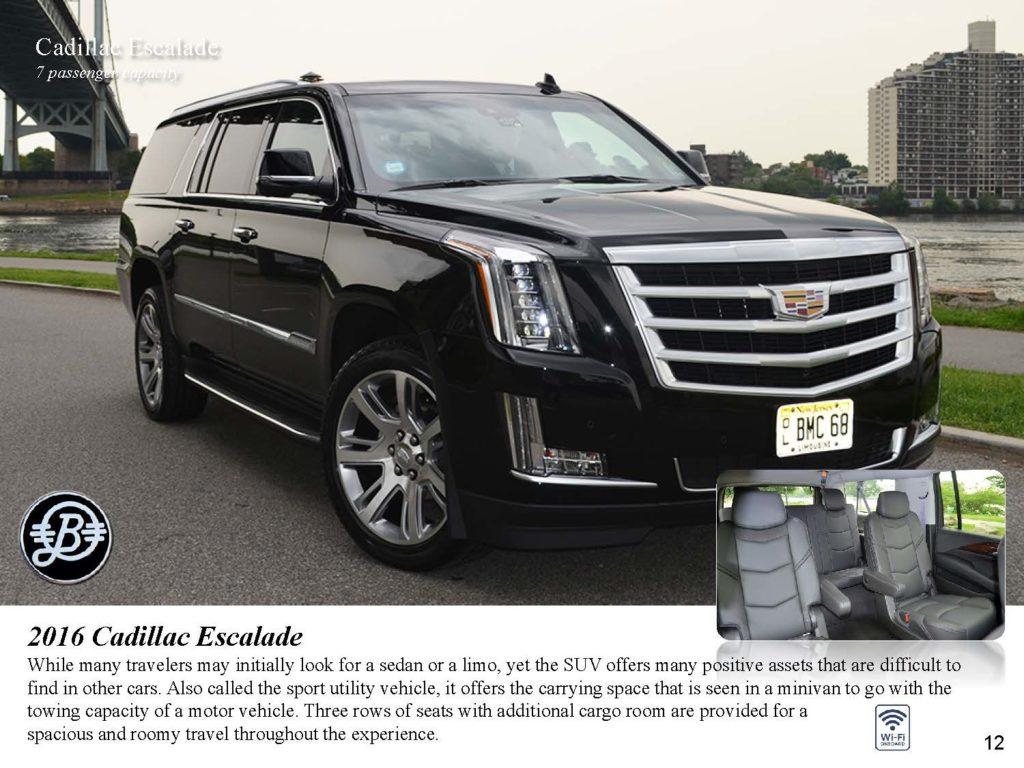 Cadillac Escalade SUV Bermuda Limousine