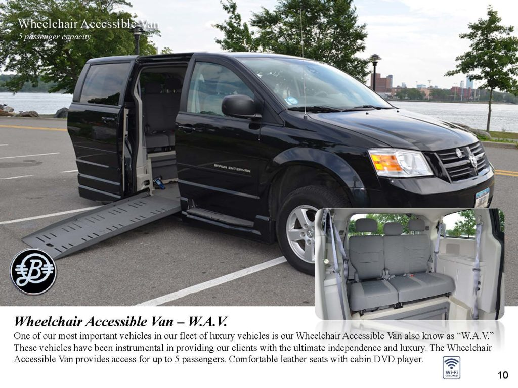 Luxury Van - Wheelchair Accessible Van