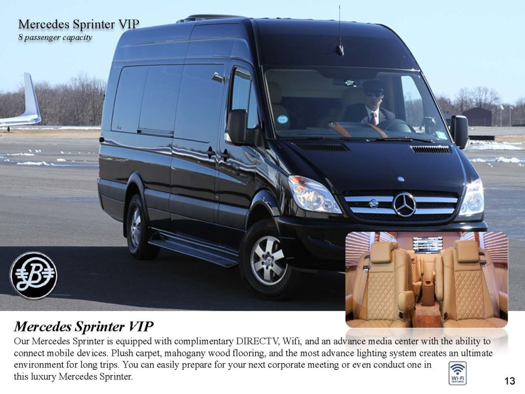 Luxury Van Mercedes Sprinter