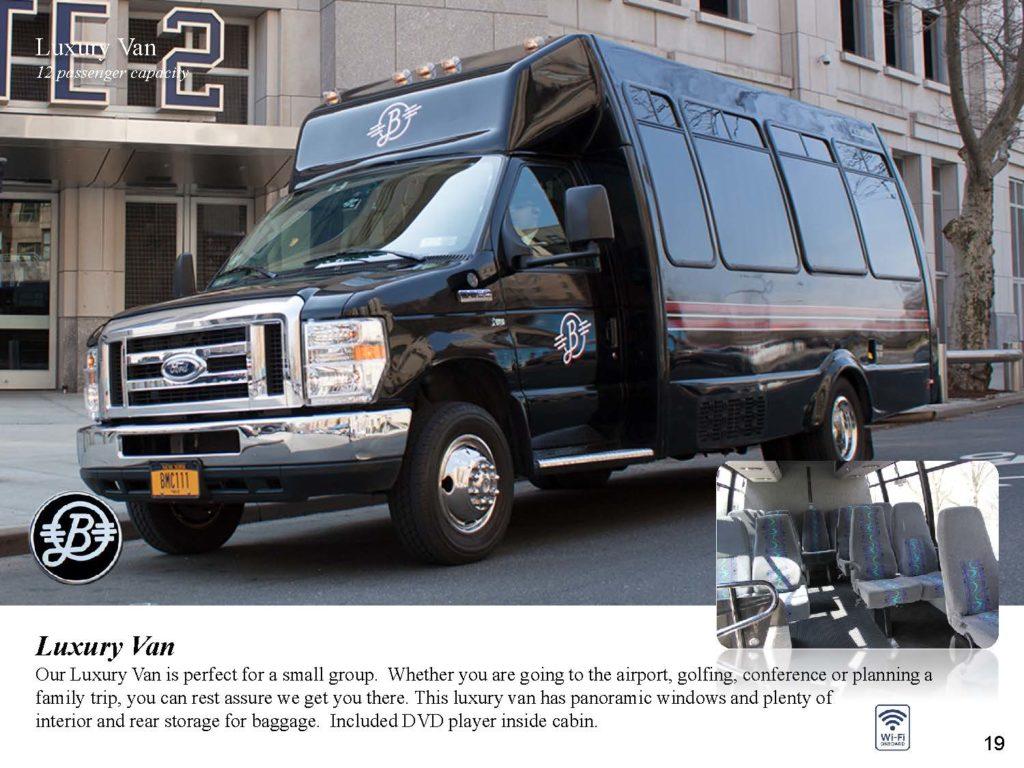 Luxury Vans Bermuda Limousine