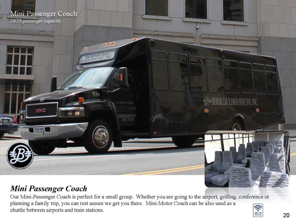 Motor Coach Bermuda Limousine
