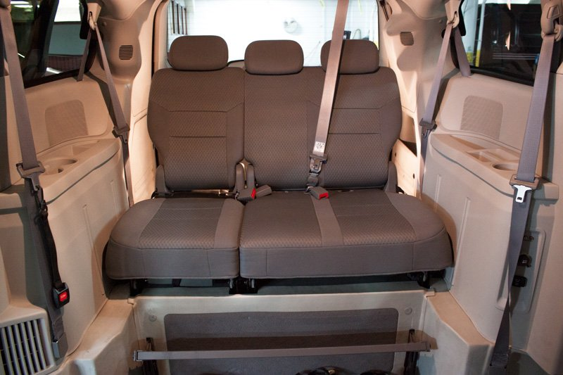 Wheelchair Accessible Vehicle Interior