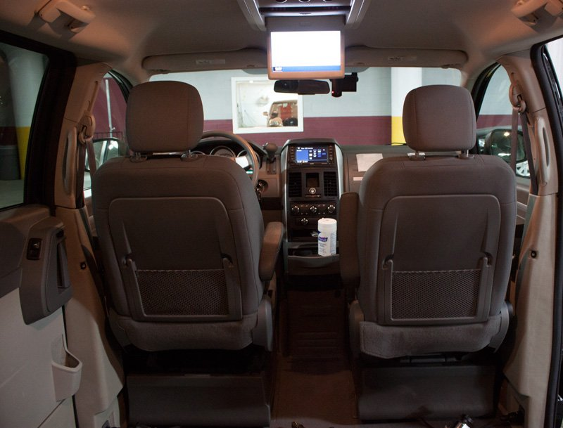 WheelchairAccessibleVehicleInterior