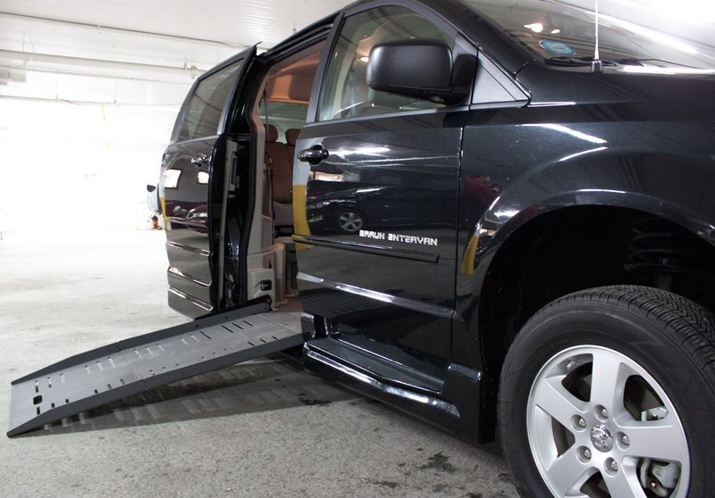 Wheelchair Accessible Van Ramp