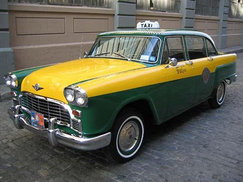 1962 Checker Taxi