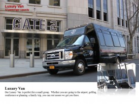 Luxury Vans – 12 passenger Capacity