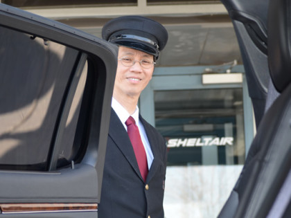 Chauffeur Service for Private Jets and Helicopter Charter