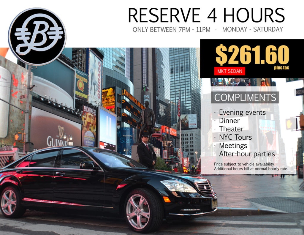 NYC limousine service