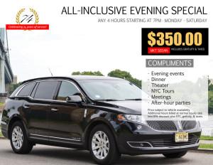 Broadway Sedan Special
