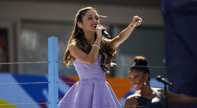 Ariana Grande Arthur Ashe Day 2013