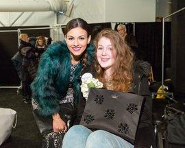 Emmary Graham Victoria Justice Fashion Show NYC