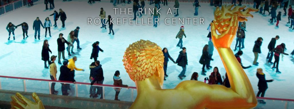 Rockefeller Center - Iceskating